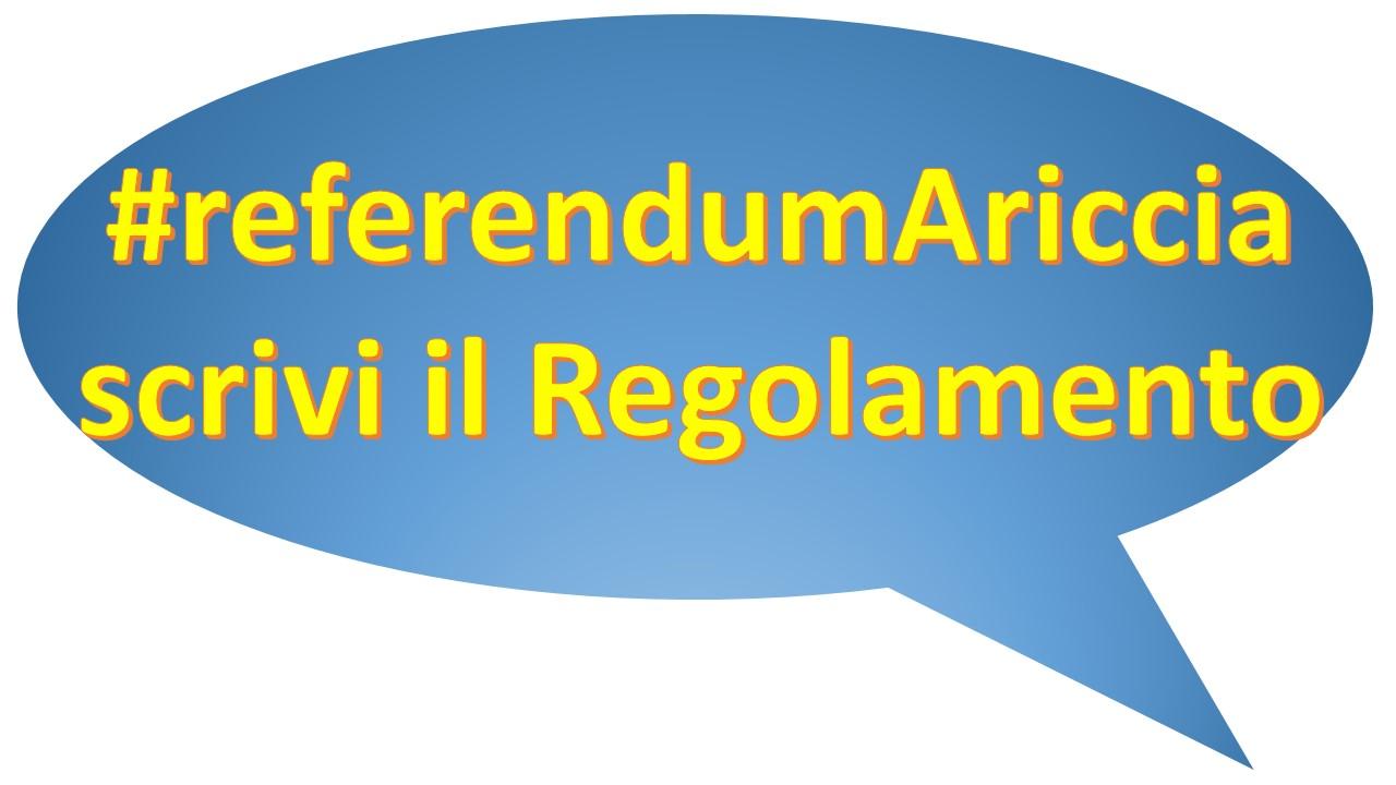 referendumariccia